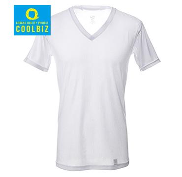 ICE MOVE VネックTシャツ